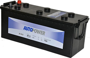 Batterie PL/Agri AT17 / K8 12v 140ah / 800A Autopower