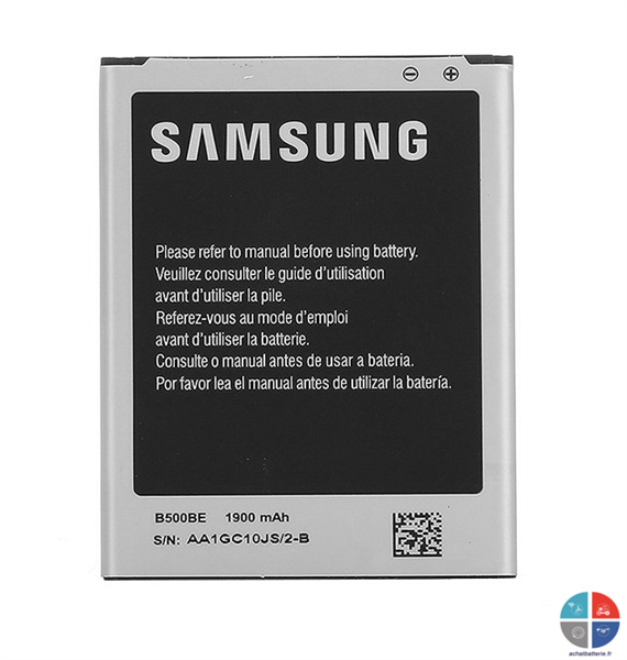 Batterie SAMSUNG Origine B500BE Galaxy S4 mini  3.8v 1900mah