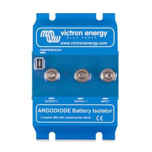 Répartiteur Victron Battery Isolator 2 batteries 80A 12/24V ARG080202000R