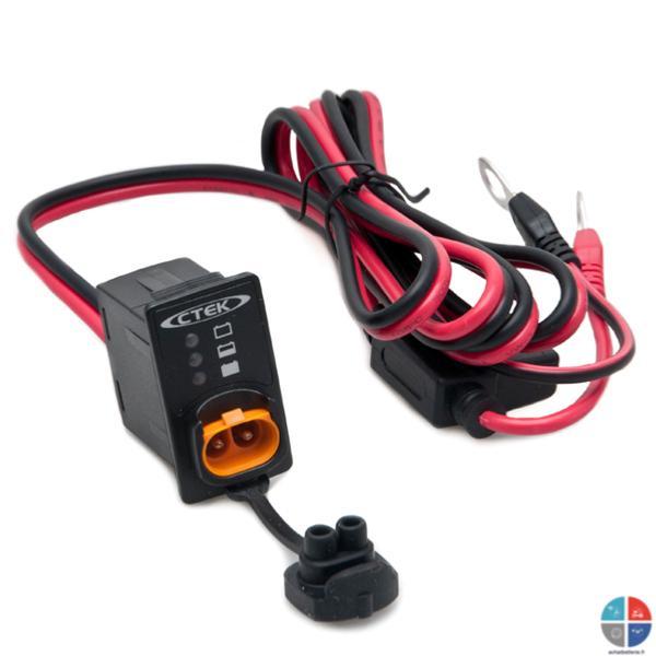 chargeur batterie ctek exosiste