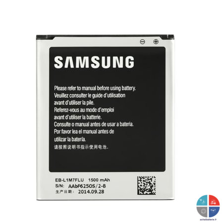 Batterie SAMSUNG Origine EB-F1M7FLU Galaxy S3 mini