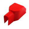 Capot de protection cosse batterie Papillon rouge