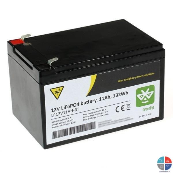 batterie lithium lifepo4 12v 12ah c20 np12 12 pour. Black Bedroom Furniture Sets. Home Design Ideas