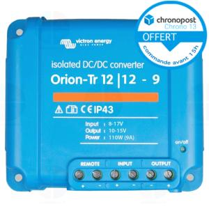 Convertisseur Orion-Tr Victron DC-DC 12V/12V - 9A Isolated ORI121210110R