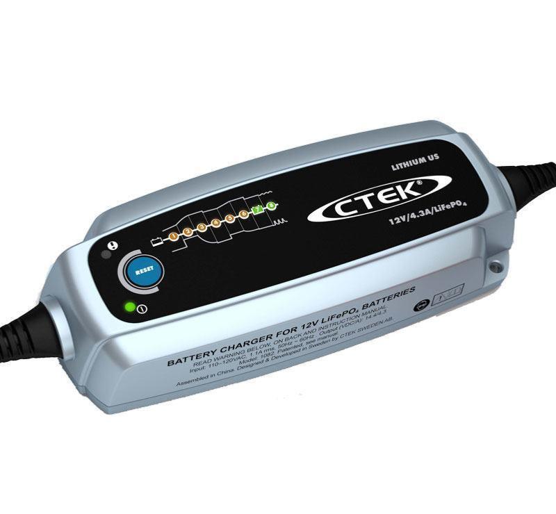 chargeur ctek lithium xs 12v 5a pour batteries lifepo4 charge les batteries au lithium optimis e. Black Bedroom Furniture Sets. Home Design Ideas