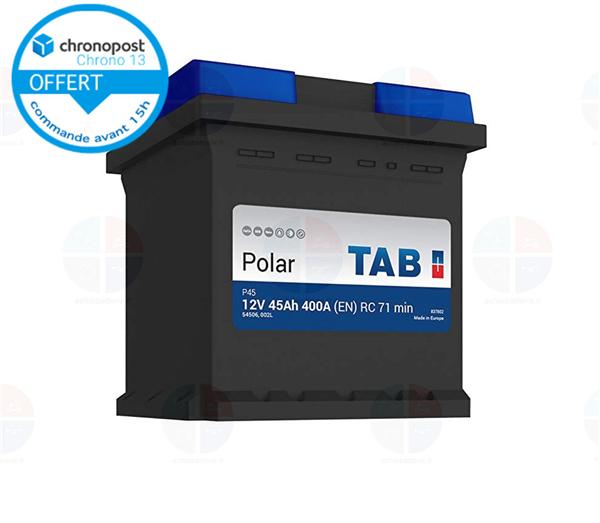 batterie auto lb1 12v 50ah 420a tab polar s b18 batterie. Black Bedroom Furniture Sets. Home Design Ideas