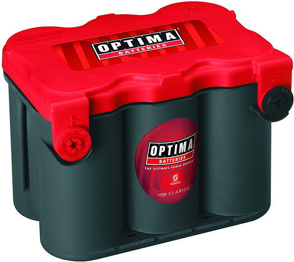 Batterie Optima RTF 4.2 12V 55ah 815A AGM Spirale