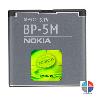 Batterie NOKIA Origine BP-5M 5610 5700 6110 6220c 6500 900mAh