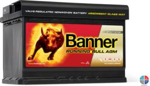 Batterie Auto 12v 70ah 720A AGM Banner 57001 Start Stop
