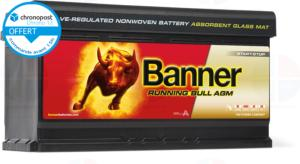Batterie Auto 12v 92ah 850A AGM Banner 59201 Start Stop