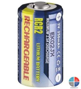 accu cr2 rechargeable 3v 250mah pour appareil photo pile rechargeable lithium ion cr123a. Black Bedroom Furniture Sets. Home Design Ideas