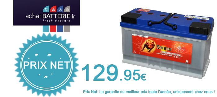 Batteries Banner à décharge lente
