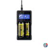 Chargeur AA AAA XTAR VC2+l Lithium/Nicd/Nimh 2 accus