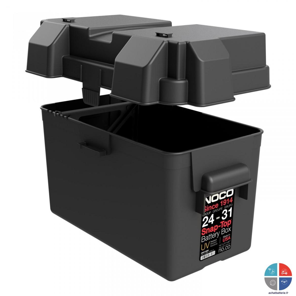 bac a batterie noco marine 410x200x200 gr31 camping car. Black Bedroom Furniture Sets. Home Design Ideas