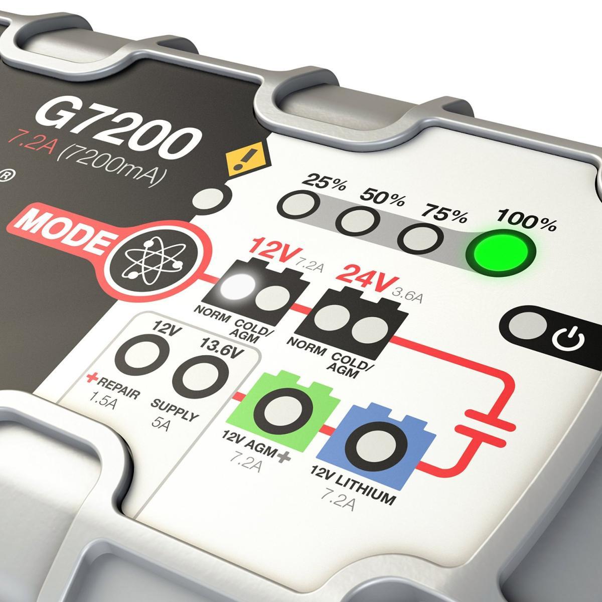 chargeur batterie genius