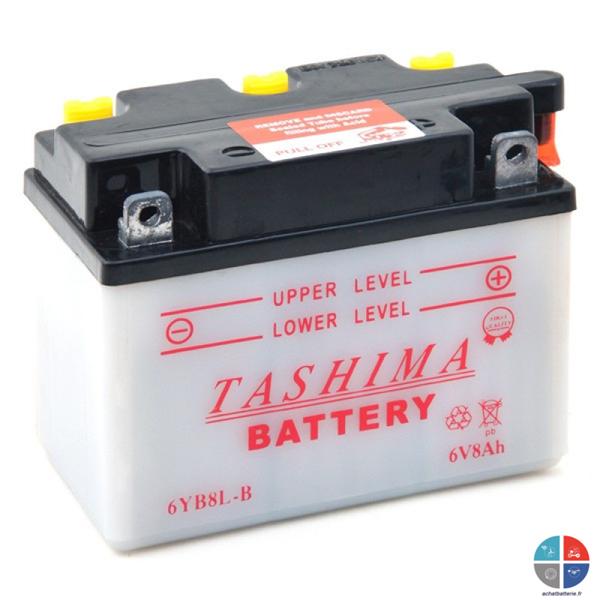batterie moto 6v 8ah