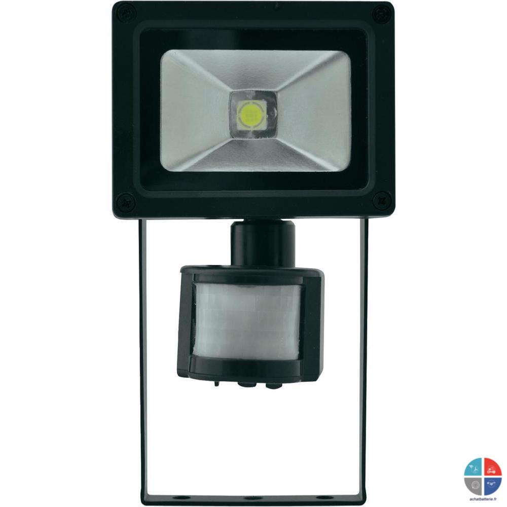 Projecteur LED 230v 10w 800 Lumens Avec Détecteur