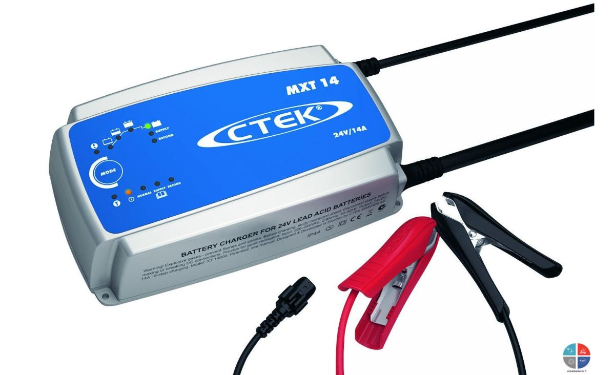 chargeur ctek mxt14 24v 14a pour batteries agm wet gel. Black Bedroom Furniture Sets. Home Design Ideas