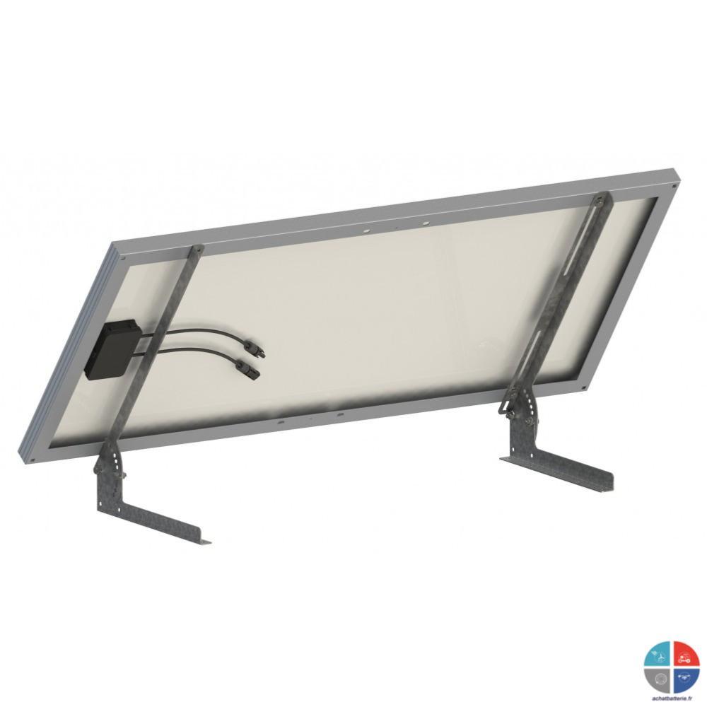 systeme de fixation panneau solaire au sol inclinable. Black Bedroom Furniture Sets. Home Design Ideas
