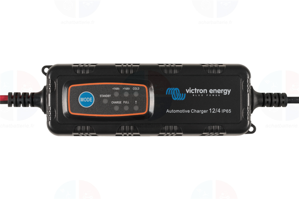 Chargeur VICTRON 12V 1A-4A Auto Moto batteries plomb IP65 BPC120480034R