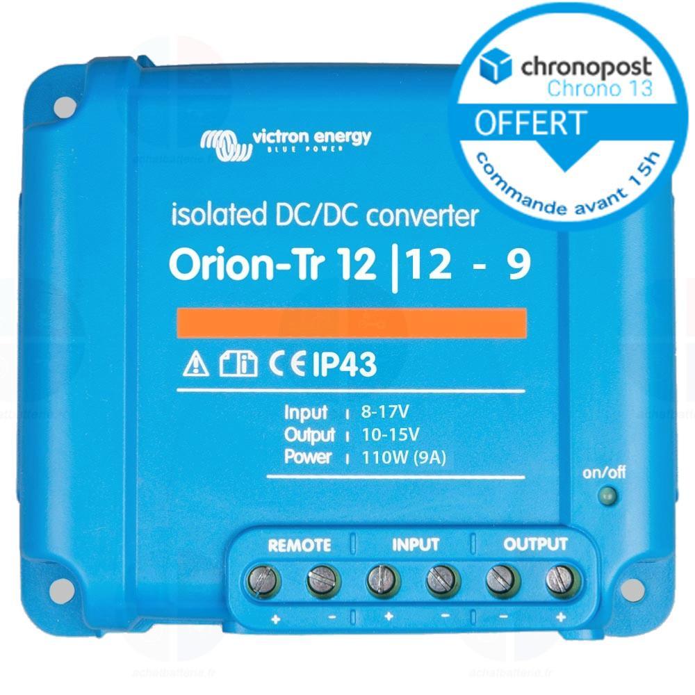 orion-tr DC-DC 12/V//12/V-9/a 110/W isolato