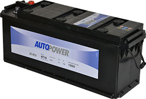 Batterie PL/Agri AT16 / J10 12v 135ah / 1000A Autopower