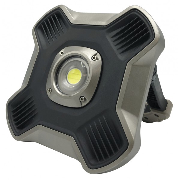 Projecteur LED cob 20w 12v 2600 lumens Rechargeable IP44